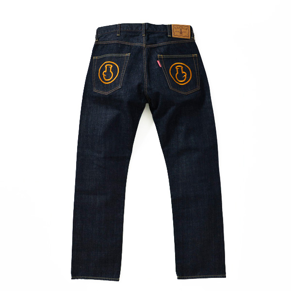 画像1: CLASSIC BONG DENIM JEANS (STRAIGHT FIT-GOLD POCKET-)