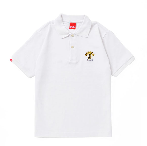 画像1: ORIGINAL BONG POLO (WHITE)
