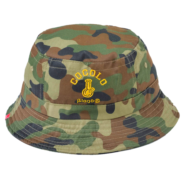 画像1: ORIGINAL BONG BUCKET HAT (WOOD CAMO)