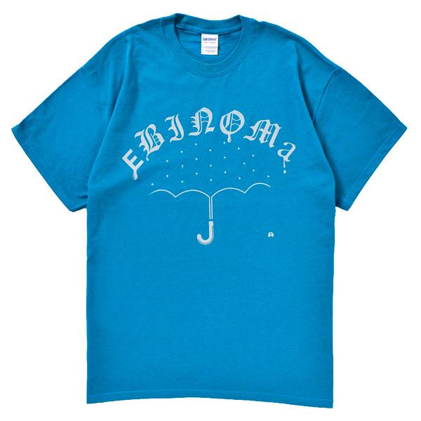 画像1: EBINOMA BRAND / RAIN GANG S/S TEE (BLUE)