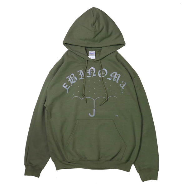 画像1: RAIN GANG HOOD PARKA (militry green)