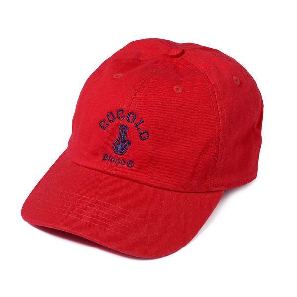 画像1: CLASSIC BONG 6PANELS CAP (RED)