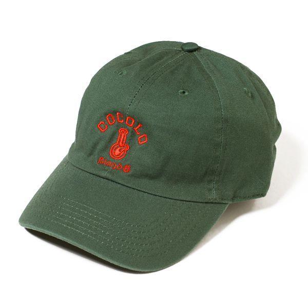 画像1: CLASSIC BONG 6PANELS CAP (DARK GREEN)