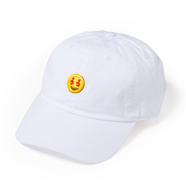 画像1: EMOJI  6PANELS CAP (WHITE)