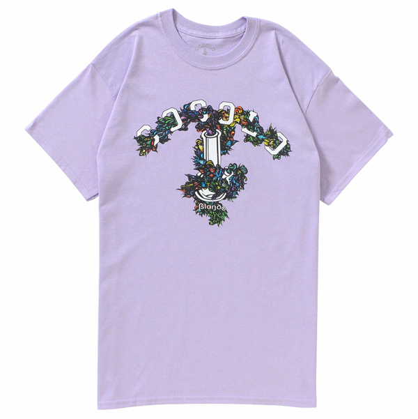 画像1: COCOLO BLAND × YOUBOB BONG TEE(LIGHT PURPLE)