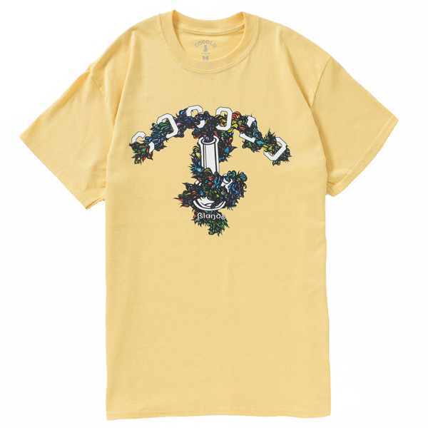 画像1: COCOLO BLAND × YOUBOB BONG TEE(LIGHT YELLOW)