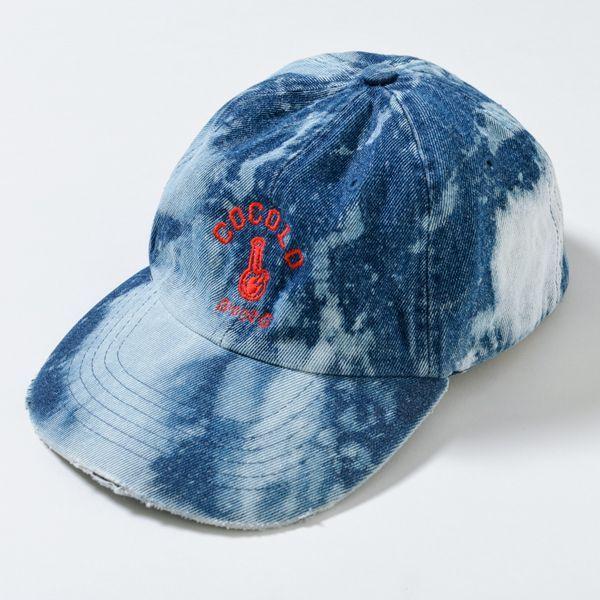 画像1: BLEACH BONG DENIM 6PANELS CAP