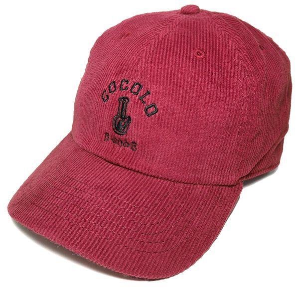 画像1: CLASSIC BONG 6PANELS CAP (CORD WINE)