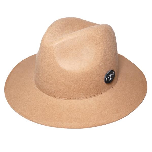 画像1: BONG WAPPEN WOOL BRIM HAT (BEIGE)