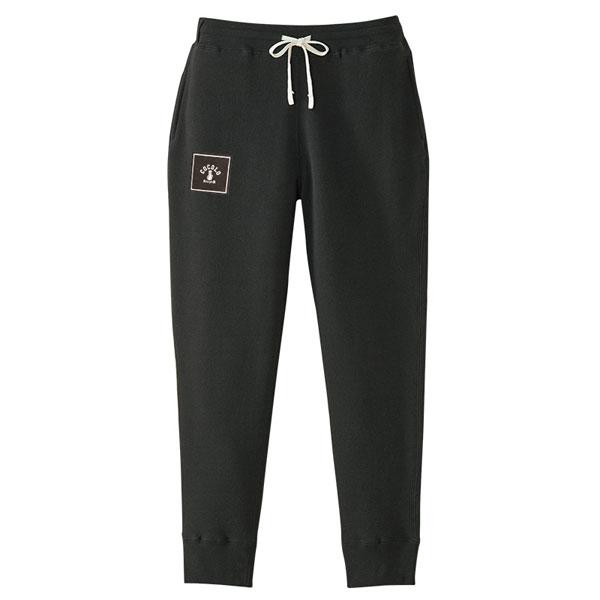 画像1: SQUARE  LOGO SWEAT  PANTS (BLACK)