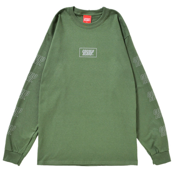 画像1: REFLECTOR LOGO L/S TEE  (MILITRY GREEN)