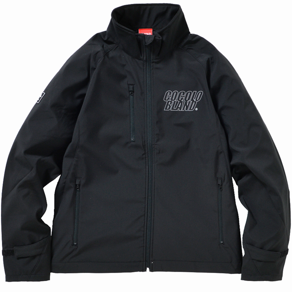 画像1: REFLECTOR LOGO SOFT SHELL JACKET(BLACK)