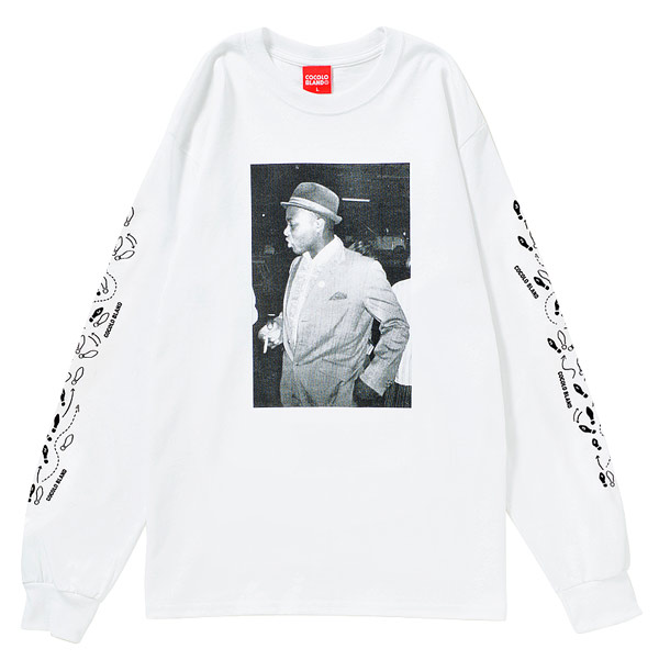 画像1: RUDE BOY STEP L/S TEE  (WHITE)
