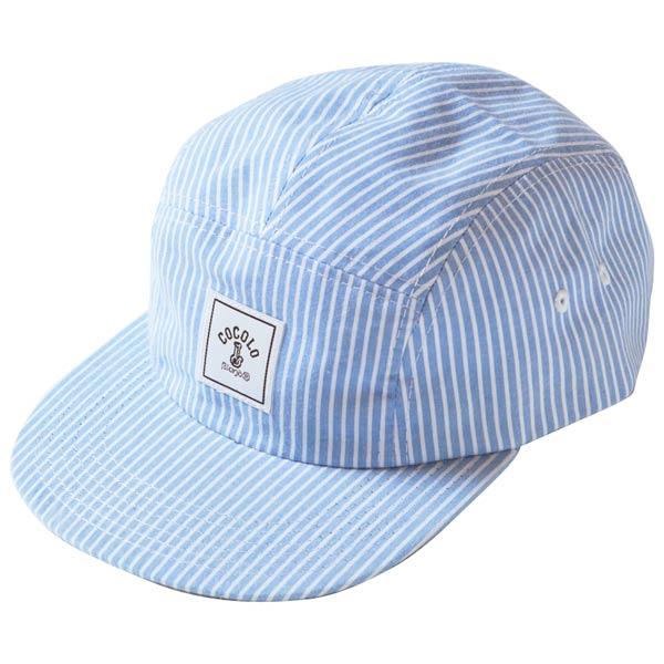 画像1: SQUARE LOGO STRIPE 5PANELS CAP