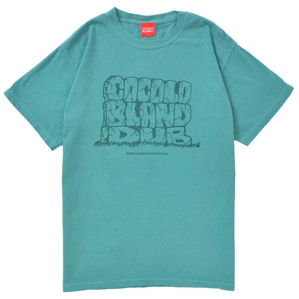 画像1: COCOLO BLAND DUB DYED TEE (SEAFOAM GREEN))