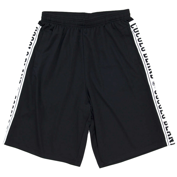 画像1: SIDE LOGO DRY SHORTS (BLACK)