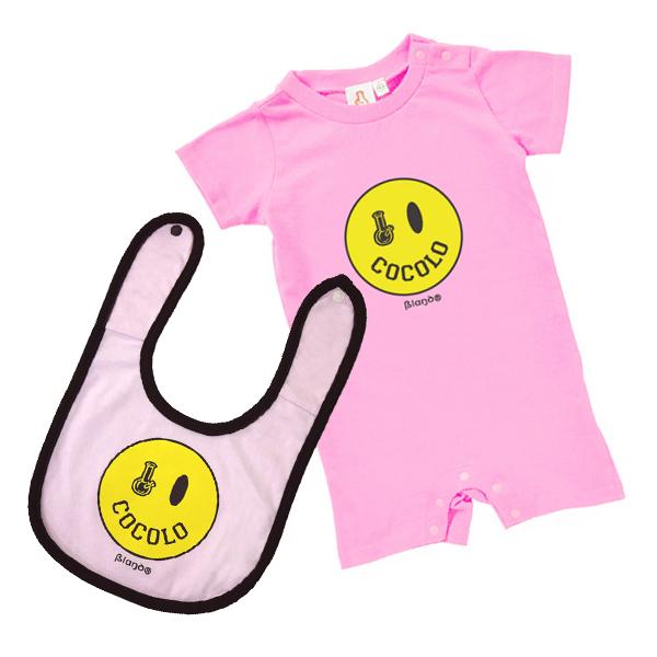画像1: SMILEY BONG BABY SET (Lt-PINK)
