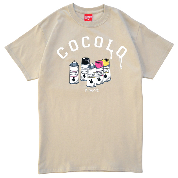 画像1: SALE BONG COLORS S/S TEE (SAND)