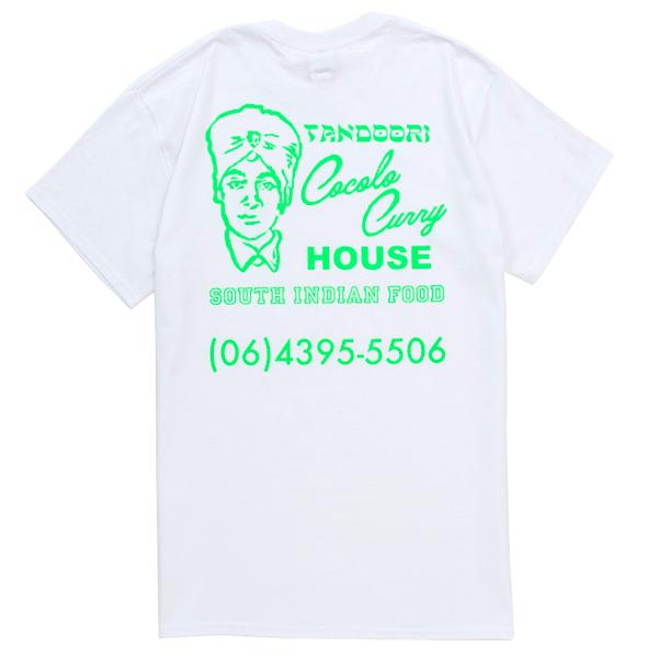 画像1: COCOLO BLAND CURRY SHOP S/S TEE (WHITE)