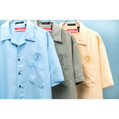 画像1: BONG RAYON CAMP SHIRTS (Lt-BLUE)
