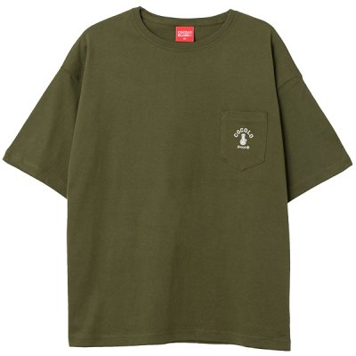 画像3: POCKET WIDE S/S  (OLIVE)