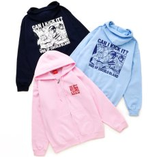 画像4: SALE !! CAN I KICK IT ZIP PARKA (PINK) (4)