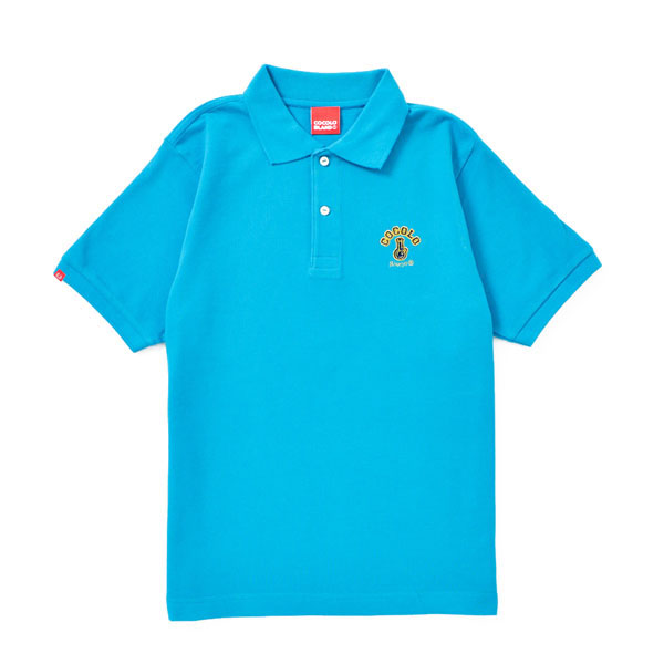 画像1: ORIGINAL BONG POLO (TURQUOISE BLUE) (1)