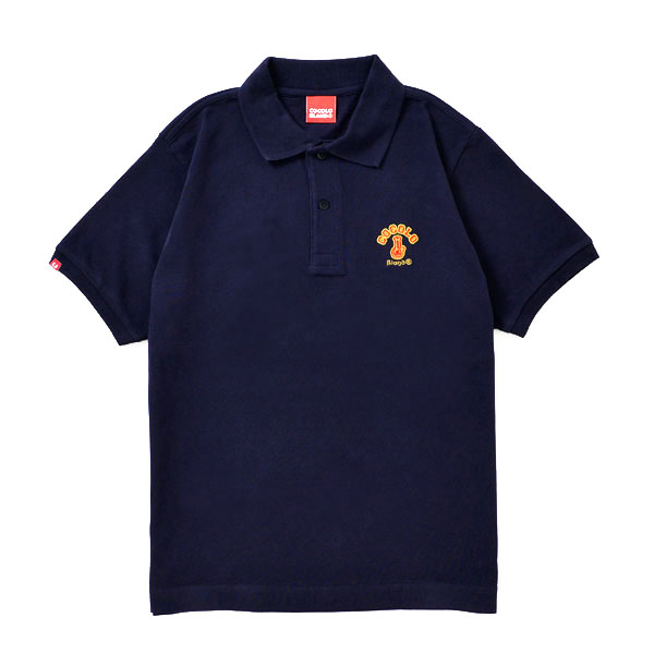 画像1: ORIGINAL BONG POLO (NAVY) (1)
