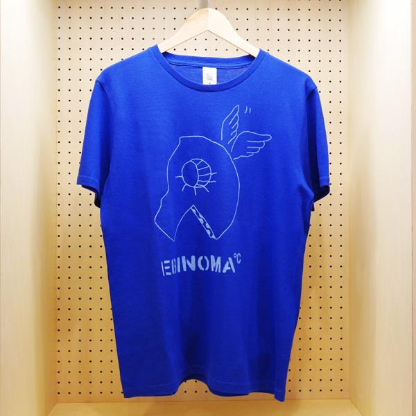 画像1: EBINOMA BRAND ANGEL PIZZA S/S TEE (BLUE) (1)
