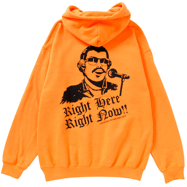 画像1: VINYL BITCH DEE JAY HOODIE (NEON ORANGE) (1)
