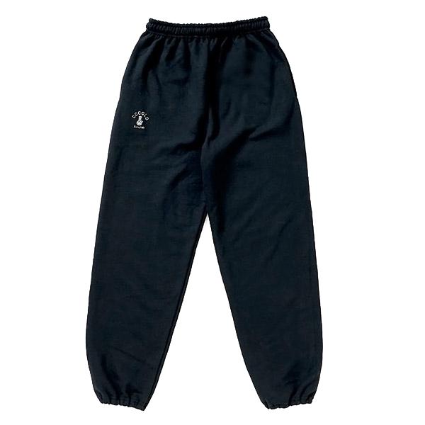 画像1: BASIC LOGO SWEAT PANTS (BLACK) (1)