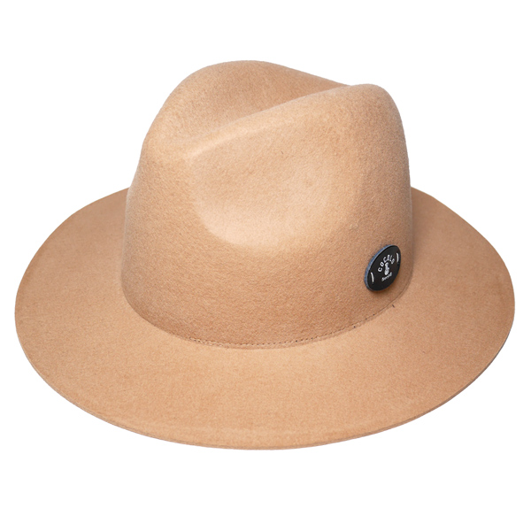 画像1: SALE!! 50%OFF!! BONG WAPPEN WOOL BRIM HAT (BEIGE) (1)