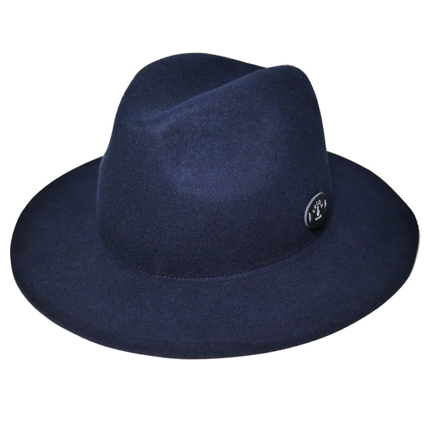画像1: SALE!! 50%OFF!! BONG WAPPEN WOOL BRIM HAT (NAVY) (1)