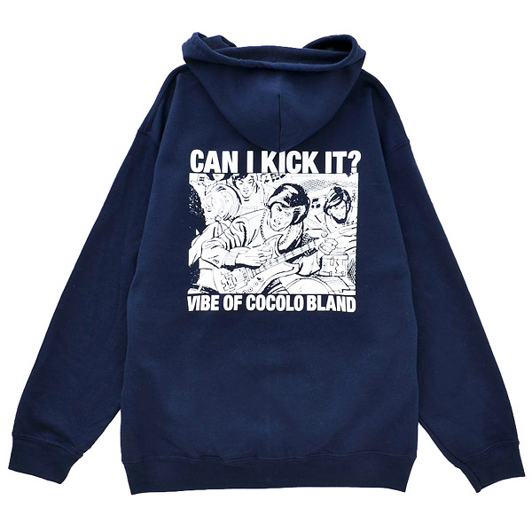 画像1: SALE !! CAN I KICK IT ZIP PARKA (NAVY) (1)