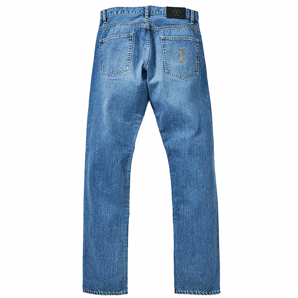 画像1: ORIGINAL BONG DENIM JEANS (WASH) (1)