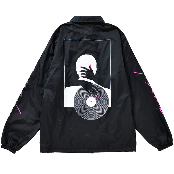 画像1: VINYL BITCH NAIL&VINYL COACH JKT (BLACK) (1)