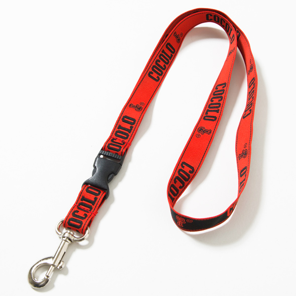 画像1: BIG LOGO NECK STRAP(RED) (1)