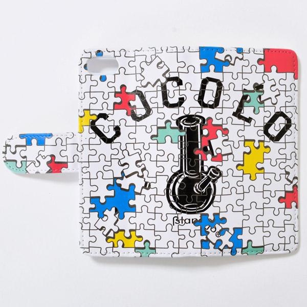 画像1: PUZZLE BONG iPHONE CASE (WHITE) (1)