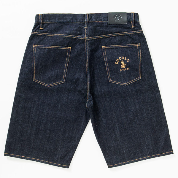 画像1: ORIGINAL BONG DENIM SHORTS (1)
