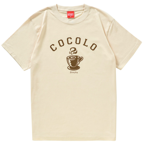 画像1: HOT COFFEE S/S TEE (NATURAL) (1)