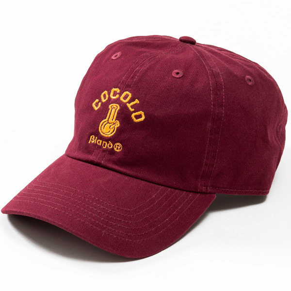 画像1: CLASSIC BONG 6PANELS CAP (BURGUNDY)