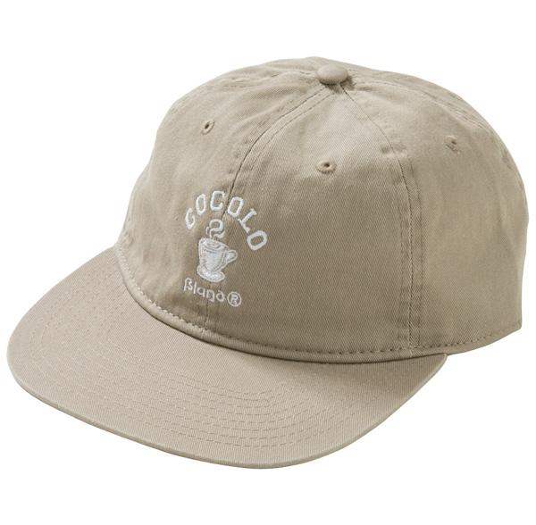 画像1: HOT COFFEE 6PANELS CAP (BEIGE) (1)