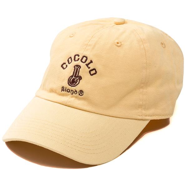 画像1: CLASSIC BONG 6PANELS CAP (LIGHT YELLOW)