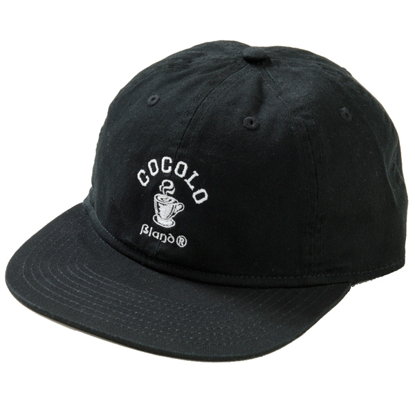 画像1: HOT COFFEE 6PANELS CAP (BLACK)