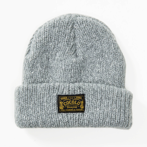 画像1: FLICK BEANIE (LIGHT GRAY) (1)