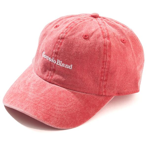 画像1: made in Cocolo Bland Pigment Dyed CAP (RED) (1)