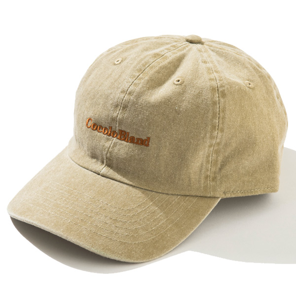 画像1: made in Cocolo Bland Pigment Dyed CAP (BEIGE) (1)
