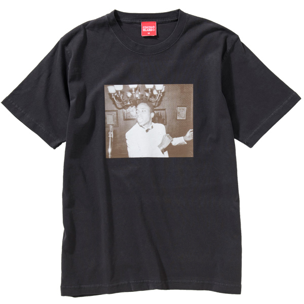 画像1: PARTY BOY PIGMENT DYE S/S TEE (VINTAGE BLACK) (1)