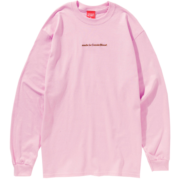 画像1: MADE IN COCOLO BLAND L/S TEE (PINK) (1)