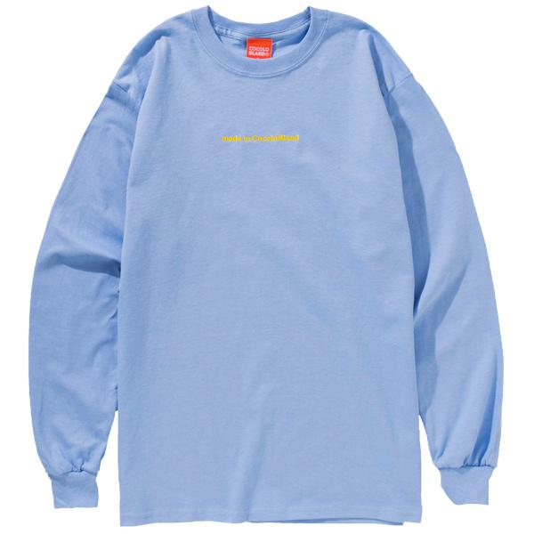 画像1: MADE IN COCOLO BLAND L/S TEE (LT-BLUE) (1)